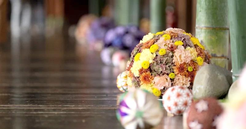 富山県の街なかで行われたフラワーロスイベント「花で街中を笑顔に」